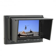 5-inch Camera Field HD DSLR Video Monitor with Plastic Sun Shade