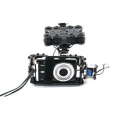 Brushless motor Control Gimbal PTZ Camera Mount for Card Camera Gopro ILDC FPV