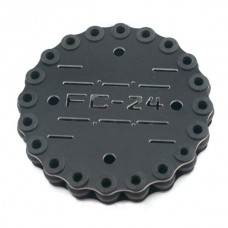 FC-A24 Glass Fiber Anti-Vibration Plate Setw/ 24pcs Shock-Absorbing Rubber Balls for FPV Camera Gimbal