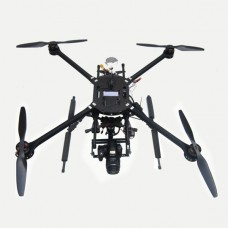THB-4 900mm Quadcopter Frame 25mm Carbon Fiber 8kg Heavy-Duty FPV Multicopter/Aircraft Better than DJI S800