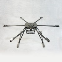 800mm ARF FPV Hexacopter with DJI Naza WKM Flight System + Hengli 4225 Motor /ESC (Standard Version)