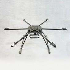 800mm ARF FPV Hexacopter with DJI Naza WKM Flight System + Hengli 4225 Motor /ESC (Standard Version)