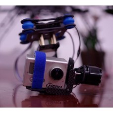 TX-2 Carbon Fiber Gopro 3 (2212)FPV Brushless Two-Axis Camera Gimbal+2pcs Motor f/ Multicopter Photography