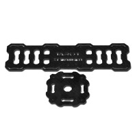 Multi Rotor Helicopter Part FY10000 Tarot 3K Pure Carbon Fiber Battery Mounting Plate& Central Board TL100B04