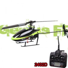 Walkera Genius FP RC Helicopter RTF Flybarless 4CH 2.4GHz with 2402D Transmitter