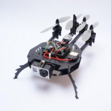 MWC APM 2.5 Rabbit ARF AeroQuadcopter Carbon Fiber Alien Multicopter 500mm Quadcopter +Motor/ESC Combo