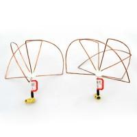 1.2G 3 Blades 4 Blades RP-SMA Clover Leaf Antenna & Skew Planar Audio Video FPV TX RX