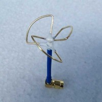 5.8g 3 Blade Clover Leaf Antenna & Skew Planar w/ Straight Type RP-SMA Connector for Audio Video FPV