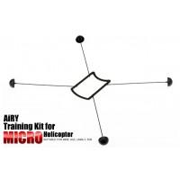 Black Training Kit for Mini Helicopter RC Hobby
