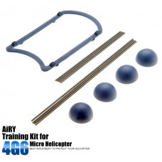 Blue Training Kit for 120 Class Mini helicopter RC Hobby