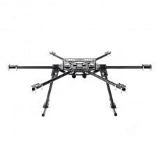 SkyKnight X6-S800 FPV Carbon Fiber Hexacopter Folding Multirotor Aircraft Frame Kit w Landing Skid