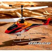 Nine Eagles 4CH Draco 210A RTF Helicopters(Black Edition 2.4 Ghz )
