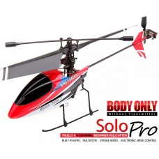 Nine Eagles Solo Pro 260A 4CH Helicopter BNF (Red Body Only)