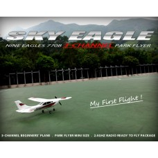 Nine Eagles Mini RC Cessna aircraft (Red 2.4Ghz edition )