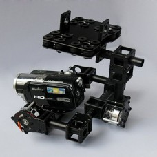 LG-001Two-Axis FPV DSLR Brushless Camera Gimbal Aerial Photography (10kg Test) for Mini DSLR Camera