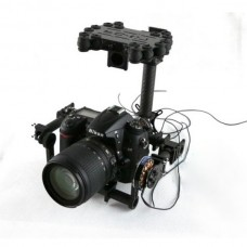 Stormeye Two-Axis FPV DSLR Brushless Camera Gimbal Aerial Photography for Nikon D7000 DSLR Camera