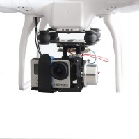 DJI Phantom Brushless Gimbal Complete KIT 2-Axis Two Axis Aerial Photography Camera PTZ for Gopro 1/2/3