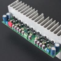 TDA7293 Parallel 555W Mono Power Amplifier Board Assembled Amplifier Board With Heatsink