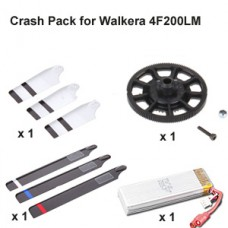 Crash Pack for Walkera 4F200LM Helicopter (Silver)