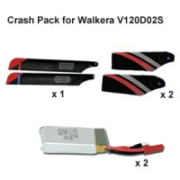 Crash Pack for Walkera V120D02S Helicopter