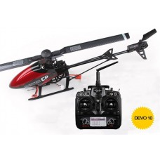 Walkera Master CP with DEVO 10 Transmitter Mini 6CH 3D Flybarless RC Helicopter RTF 2.4Ghz