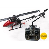 Walkera Master CP with DEVO 8S Transm itter Mini 6CH 3D Flybarless RC Helicopter RTF 2.4Ghz