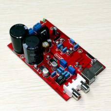 Hi-Fi Audio Decoder Preamp TE7022 + WM8741 + AD827 DAC USB 24BIT 96K Sound Card Decoder