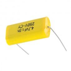 MKP Metallized Polypropylene 250V-CY 4.7uF Audiophiler Audio Grade Capacitor (5-Pack)