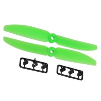 1 Pair Gemfan 5030 5030R 2-Blades CW CCW Propeller for Micro QuadCopter-Green