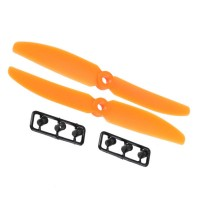 1 Pair Gemfan 5030 5030R 2-Blades CW CCW Propeller for Micro QuadCopter-Orange
