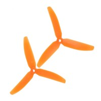 1Pair Gemfan 5030 5030R 3-Blades CW CCW Propeller for Micro QuadCopter Multicopter-Orange