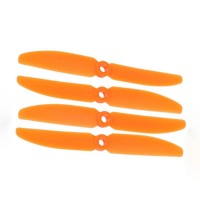 2 Pairs Gemfan 5030 5030R 2-Blades CW CCW Propeller for Micro QuadCopter-Orange