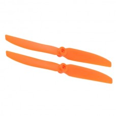 2PCS GWS EP8040 8X4 203 x 102mm Airplane Slowflyer Propellers-Orange