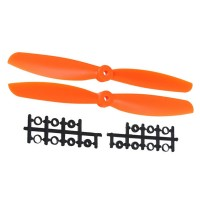 "90x4.5"" 9045 9045R CW CCW Propeller For MultiCopter-Orange"