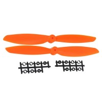 "11x4.5"" 1145 1145R Counter Rotating  CW CCW Propeller For MultiCopter-Orange"