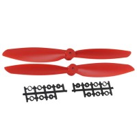 "11x4.5"" 1145 1145R Counter Rotating  CW CCW Propeller For MultiCopter-Red"
