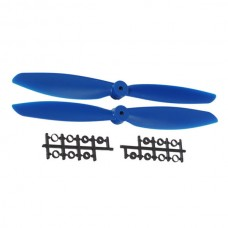 "11x4.5"" 1145 1145R Counter Rotating CW CCW Propeller For MultiCopter-Blue"