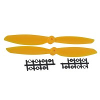 "11x4.5"" 1145 1145R Counter Rotating CW CCW Propeller For MultiCopter-Yellow"