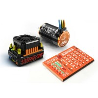 SKYRC TORO SC120 120A ESC & 4600KV Brushless Motor for 1/10 Car with Program Card