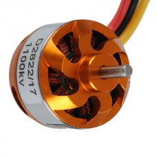 D2822 RC 1100/1450/1800/2600KV Outrunner Brushless Motor for Multicopter