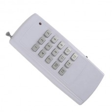 15 Buttons 15CH High Power RF Wireless Remote Controller-White