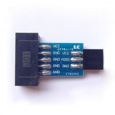 AVRISP USBasp STK500 10PIN to 6PIN Standard Convertor 2-Pack