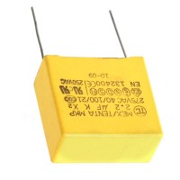 2.2uf 275VAC Polypropylene Film Capacitor 10-Pack