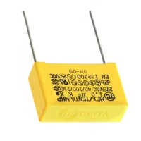 1uf 275VAC Film Capacitor 10-Pack