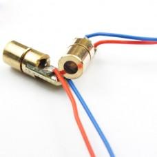 10pcs mini 650nm 5mW 5V Laser Dot Diode Module Head