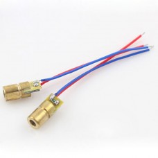 10pcs mini 650nm 5mW 3V Laser Dot Diode Module Head
