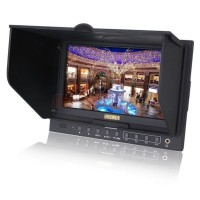 "Lilliput 5D-II/O/P FPV Monitor 7"" Monitor PEAKING Zebra Exposure Filter HDMI for Canon 5D Mark II"