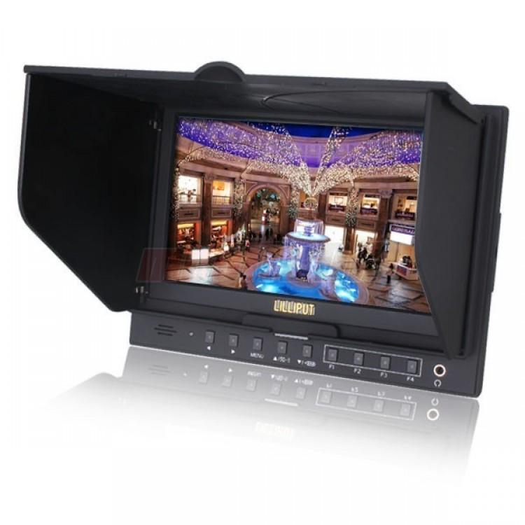 Lilliput 5D II O P FPV Monitor 7 PEAKING Zebra Exposure Filter HDMI For Canon Mark