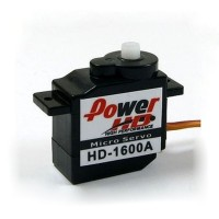 Power HD Micro Size Analog Servo 6g/ 1.3kg.cm Torque HD-1600A
