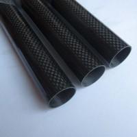 8mm*6mm Carbon Fiber Tube 3K Twill 1000mm Long 3Pcs